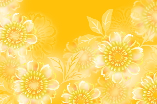 Yellow Pattern Background for Android, iPhone and iPad