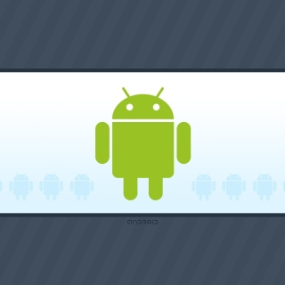 Android Phone Logo - Obrázkek zdarma pro iPad 3