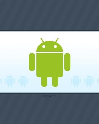Android Phone Logo - Obrázkek zdarma pro 480x800