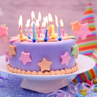 Happy Birthday Cake - Obrázkek zdarma pro iPad mini