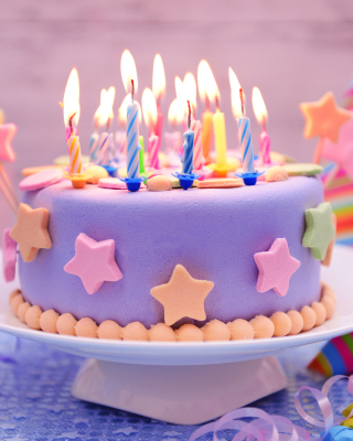 Happy Birthday Cake - Obrázkek zdarma pro Nokia Asha 203