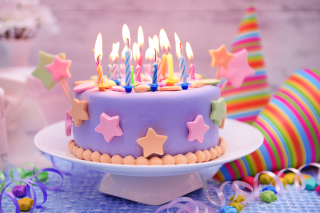Happy Birthday Cake Wallpaper for Android, iPhone and iPad