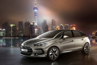 Citroen DS5 Background for Android, iPhone and iPad