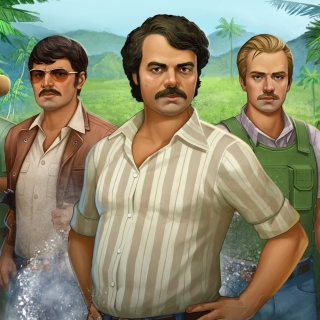 Narcos TV Crime Television Series - Obrázkek zdarma pro 1024x1024