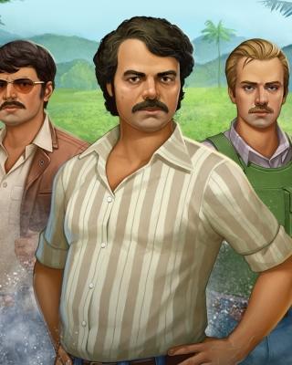 Narcos TV Crime Television Series - Obrázkek zdarma pro Nokia Asha 309