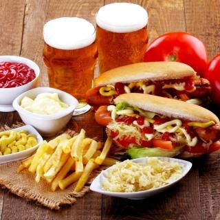 Hot Dog Sandwich - Obrázkek zdarma pro iPad Air