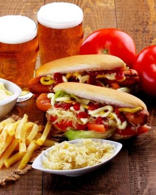 Hot Dog Sandwich - Obrázkek zdarma pro Nokia X1-00