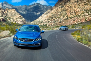 2015 Volvo V60 T5 Drive E Wallpaper for Android, iPhone and iPad