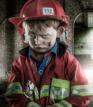 Grumpy Boy - Obrázkek zdarma pro Nokia Asha 311