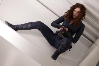 Scarlett Johansson as Black Widow - Obrázkek zdarma pro LG Optimus M