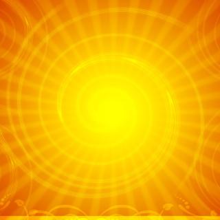 Vector Sun Rays - Obrázkek zdarma pro 320x320