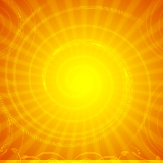 Vector Sun Rays - Obrázkek zdarma pro iPad