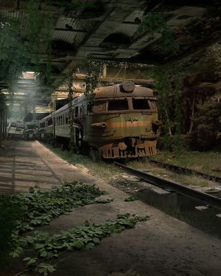 Abandoned Train - Obrázkek zdarma pro Nokia X7