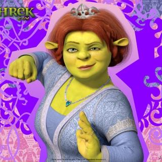 Fiona - Shrek - Obrázkek zdarma pro iPad mini