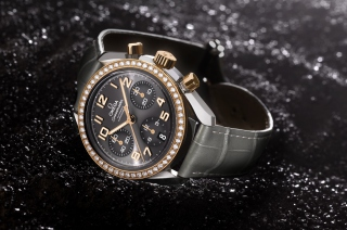 Omega Speedmaster With Diamonds Wallpaper for Android, iPhone and iPad