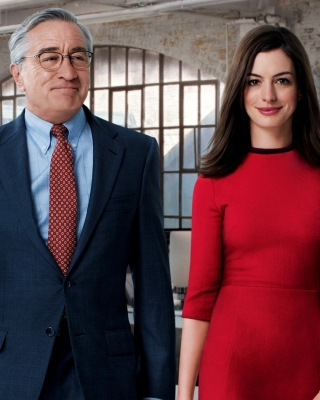 The Intern, Robert De Niro and Anne Hathaway - Obrázkek zdarma pro iPhone 5C