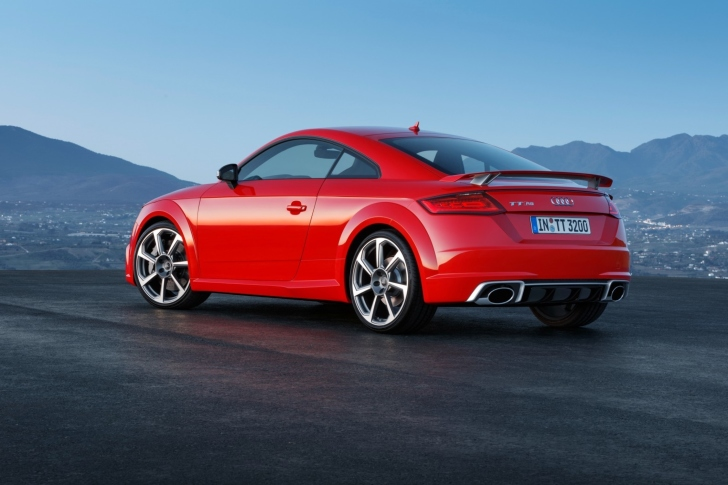 Audi TT RS Coupe wallpaper
