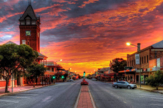 Broken Hill, New South Wales and Motel Background for Android, iPhone and iPad