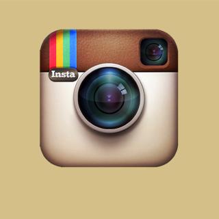 Instagram Symbol - Obrázkek zdarma pro 320x320