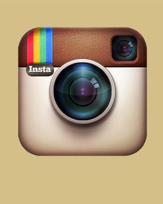 Instagram Symbol - Obrázkek zdarma pro Nokia X1-01