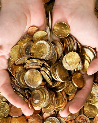 Euro cent coins - Obrázkek zdarma pro Nokia Lumia 920