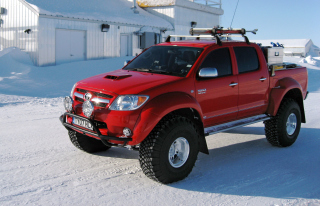 Top Gear Toyota Hilux Background for Android, iPhone and iPad