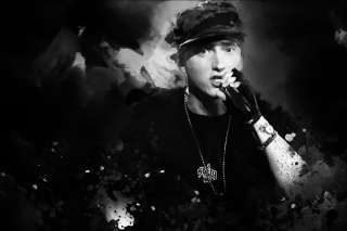 Eminem - Obrázkek zdarma pro LG P700 Optimus L7