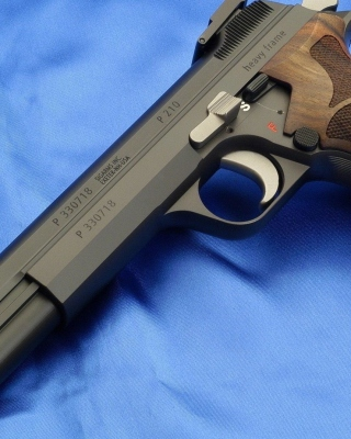 Sig P210 Pistole 49 - Obrázkek zdarma pro Nokia Asha 306