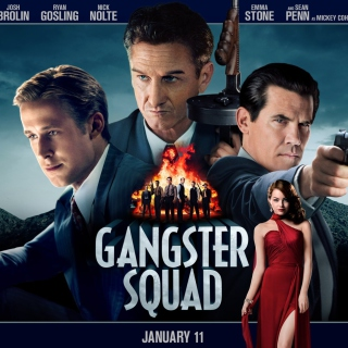Gangster Squad, Mobster Film - Obrázkek zdarma pro iPad