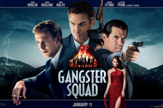 Gangster Squad, Mobster Film Picture for Android, iPhone and iPad
