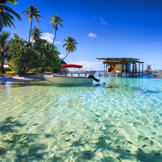 Stunning Seashore Landscape - Obrázkek zdarma pro iPad 2