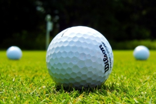 Golf Ball Background for Android, iPhone and iPad