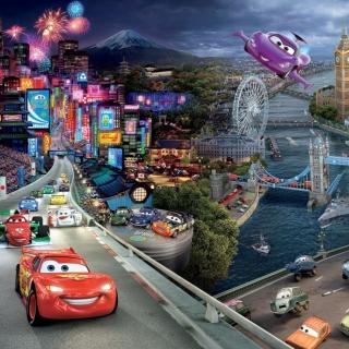 Cars 2 - Obrázkek zdarma pro 208x208