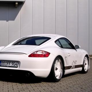 Porsche Cayman S - Obrázkek zdarma pro iPad 2