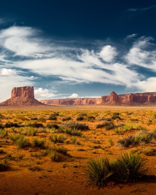Desert and rocks - Obrázkek zdarma pro iPhone 4