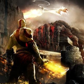 God of War III - Obrázkek zdarma pro iPad Air