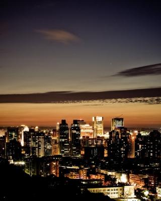 City At Twilight - Obrázkek zdarma pro Nokia Asha 311
