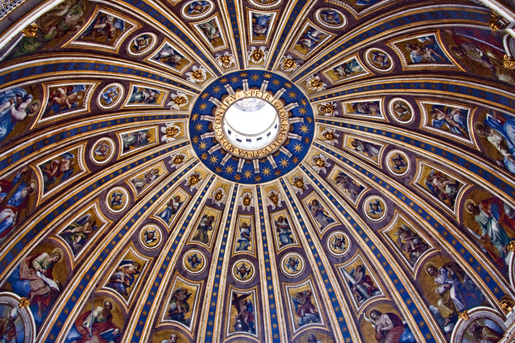 Papal Basilica of St Peter in the Vatican wallpaper
