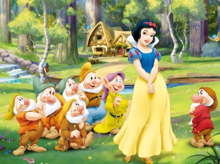 Snow White and the Seven Dwarfs Picture for Android, iPhone and iPad