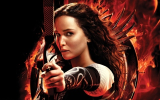 Free Katniss Jennifer Lawrence Picture for Android, iPhone and iPad