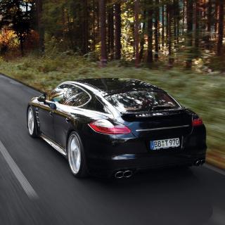 Porsche Panamera Turbo - Obrázkek zdarma pro 320x320