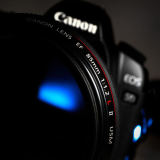 Canon Lens - Obrázkek zdarma pro iPad 3