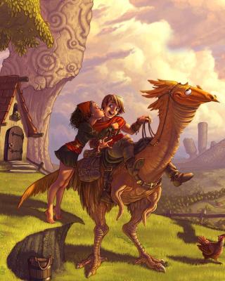 Dragon Riders - Obrázkek zdarma pro Nokia Lumia 505
