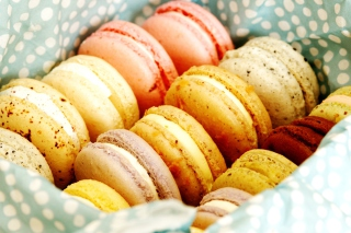Free Macarons Picture for Android, iPhone and iPad