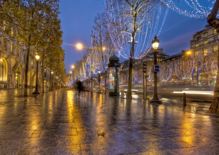 France Streetscape Background for Android, iPhone and iPad