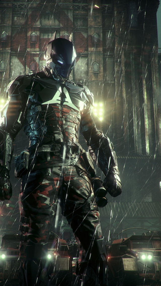 batman arkham knight 2014 wallpaper for iphone 5