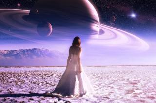Girl on Mars - Obrázkek zdarma pro Xiaomi Mi 4