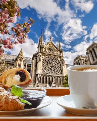 Breakfast in Paris - Obrázkek zdarma pro iPhone 4