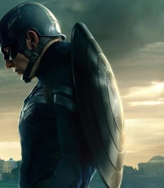 Captain America 2 The Winter Soldier - Obrázkek zdarma pro 352x416
