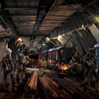 Metro 2034 Novel - Obrázkek zdarma pro 1024x1024